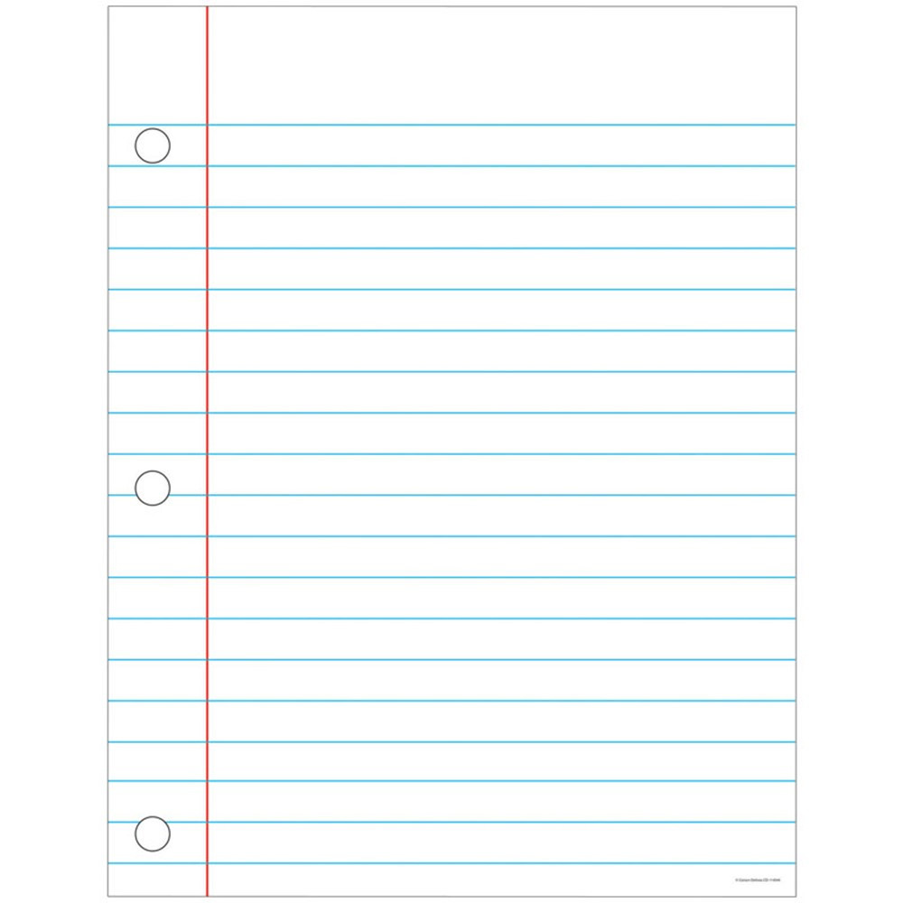 CD-114044 - Chart Notebook Paper 17X22 in Language Arts