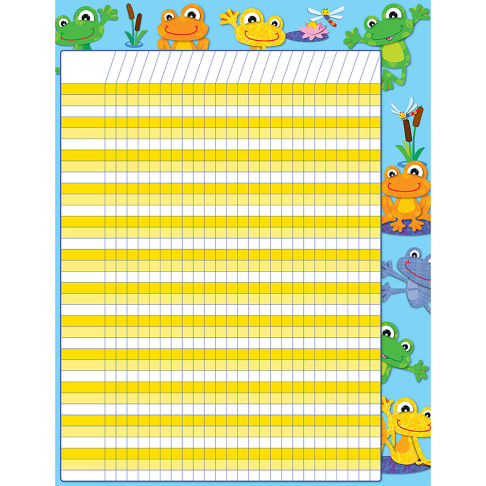 CD-114183 - Funky Frogs Incentive Chart in Incentive Charts