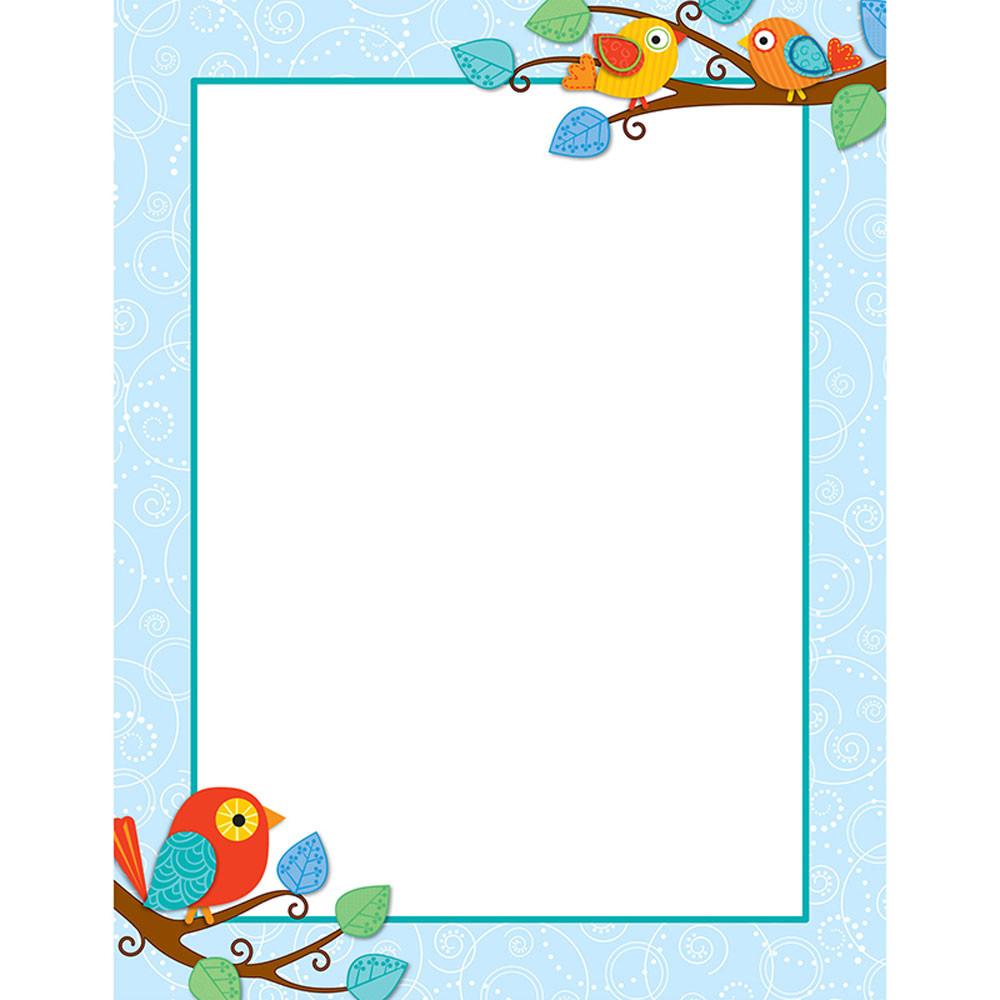 CD-114184 - Boho Birds Chart in Classroom Theme