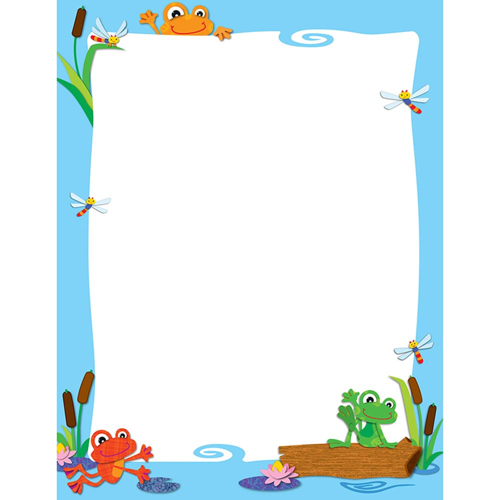 CD-114186 - Funky Frogs Chart in Classroom Theme