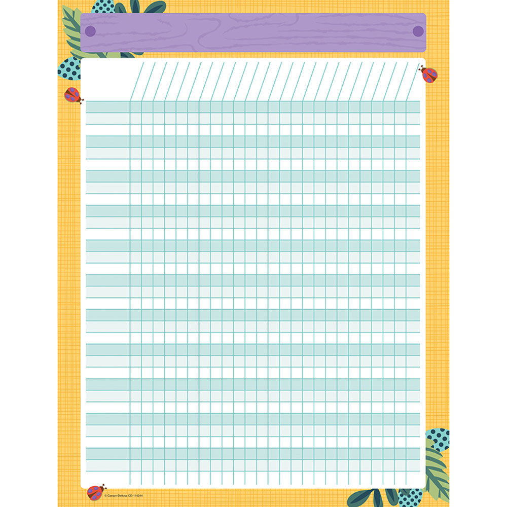 CD-114244 - Nature Explorers Incentive Chart in Incentive Charts