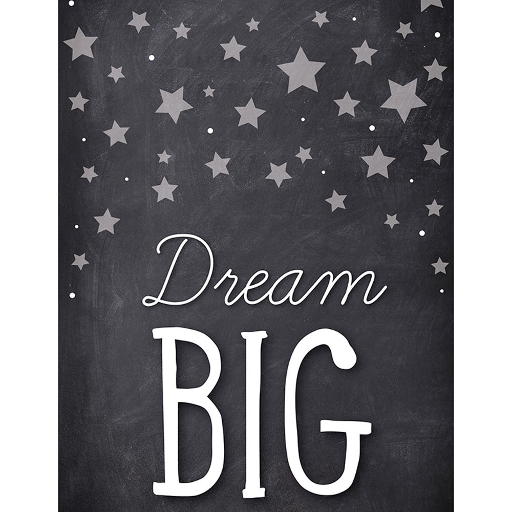 CD-114258 - Stars Dream Big Chart School Girl Style in Motivational