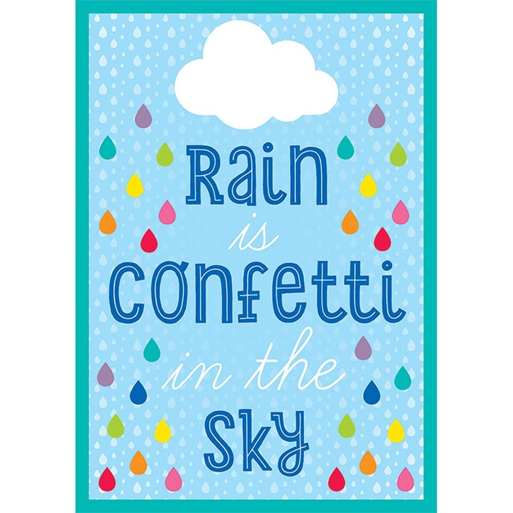 CD-114265 - Rain Is Confetti In The Sky Chart Hello Sunshine in Motivational