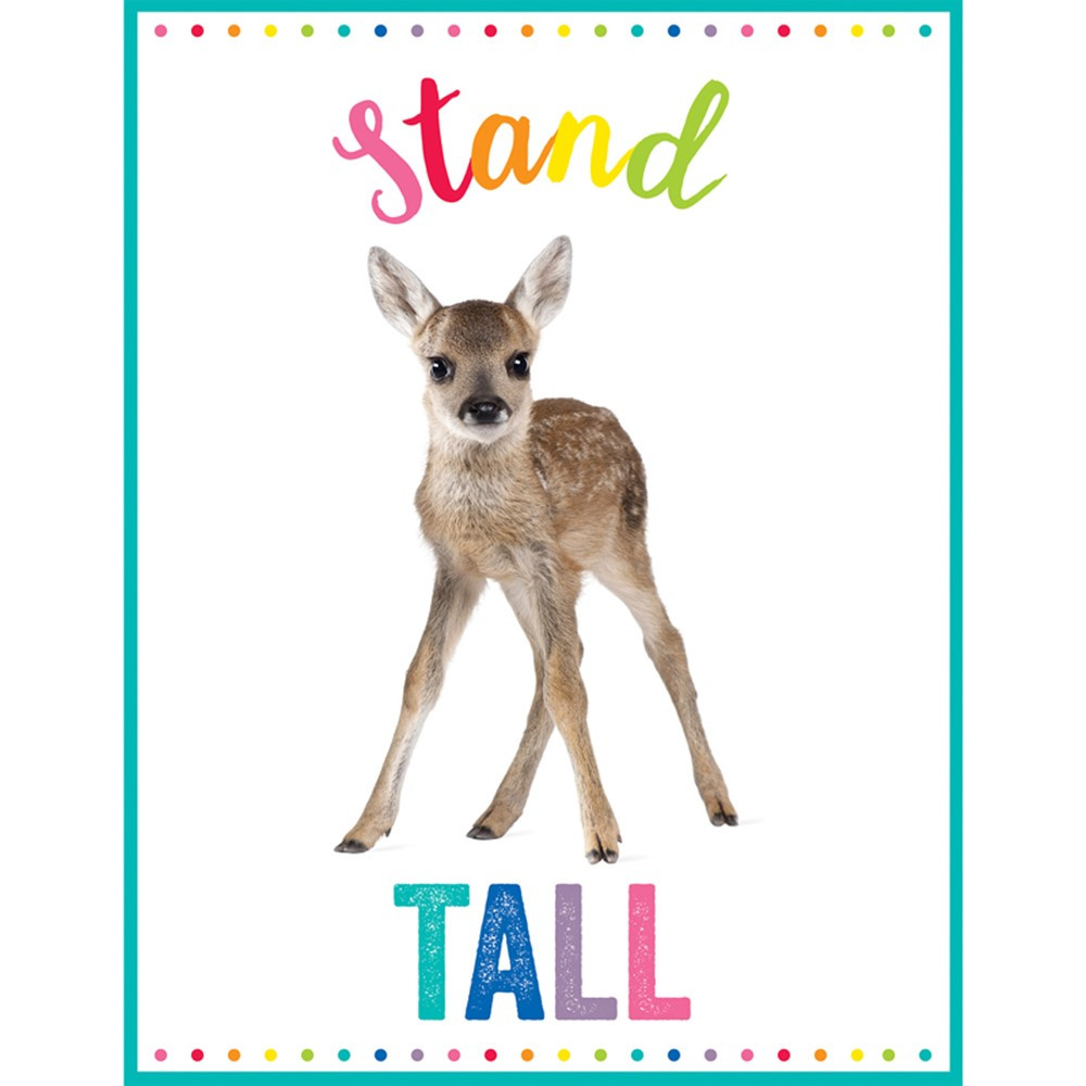 CD-114270 - Woodland Whimsy Stand Tall Chart in Classroom Theme