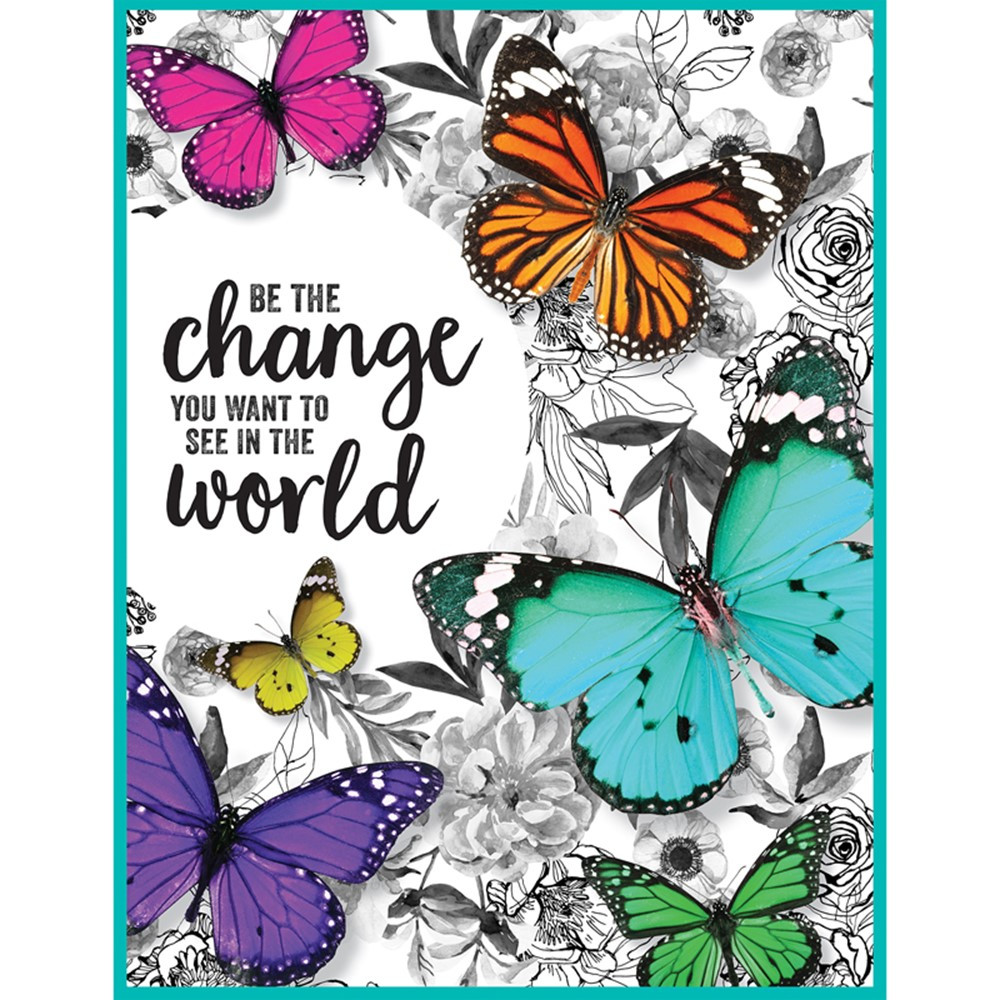 CD-114273 - Woodland Whimsy Be The Change Chart in Classroom Theme