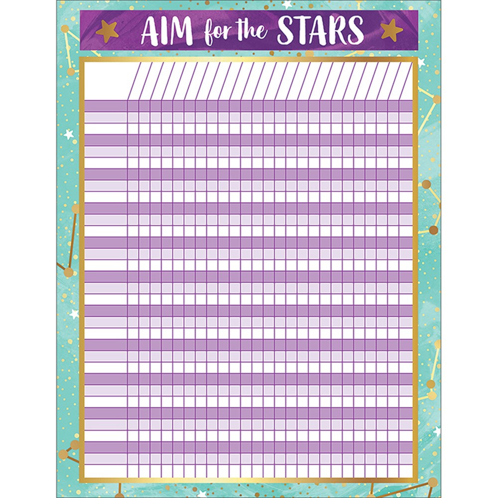 CD-114279 - Galaxy Incentive Chart in Classroom Theme
