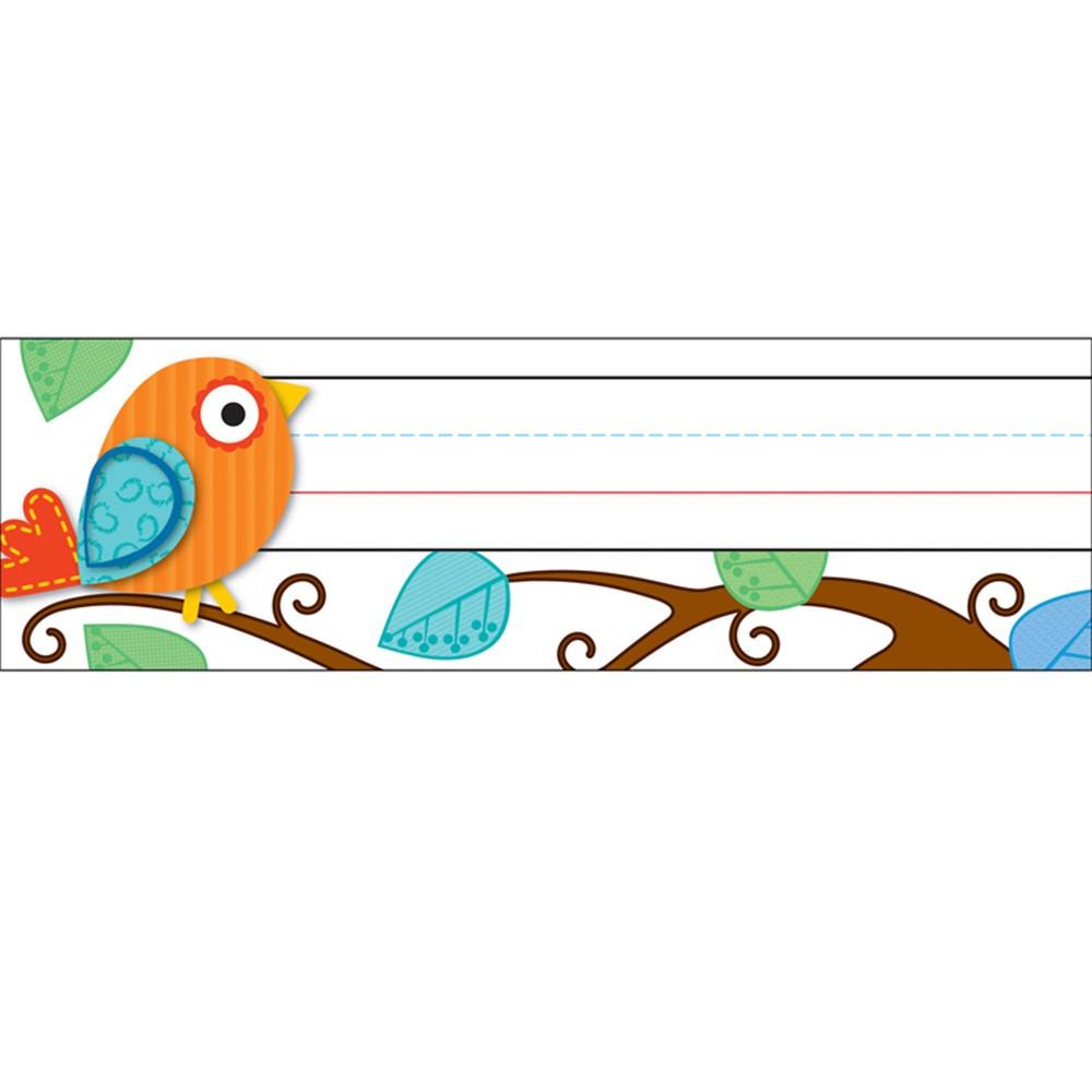 CD-119030 - Boho Birds Desk Name Plates in Name Plates