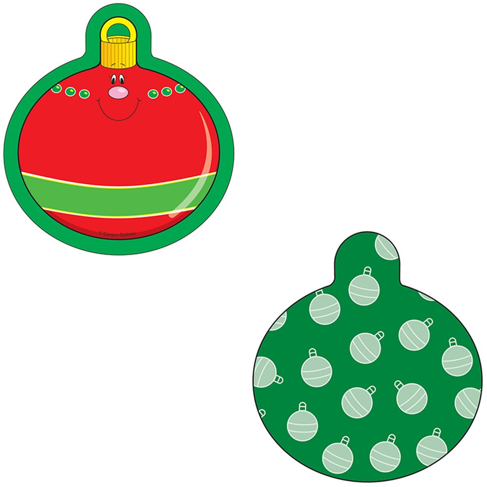 christmas ornaments mini cut outs cd 120029 carson dellosa classroom decorationsholidayseasonal