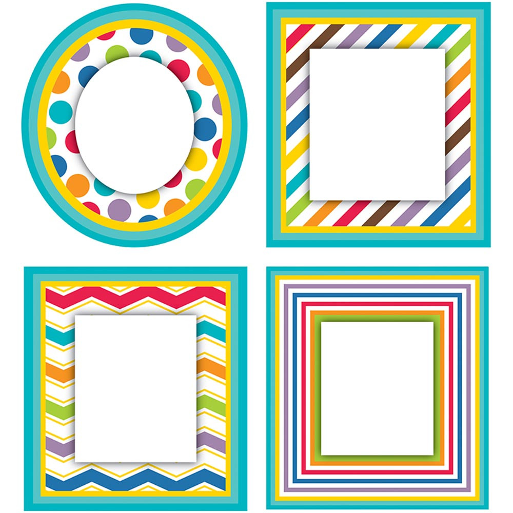 CD-120143 - Color Me Bright Cut Outs in Accents