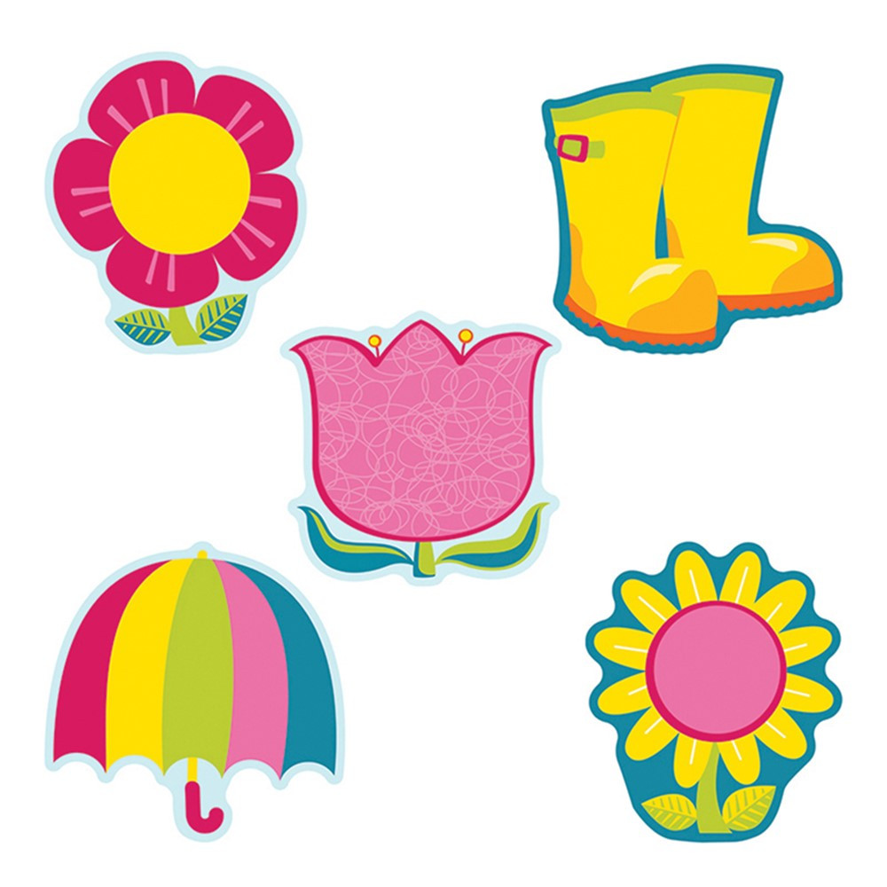 CD-120177 - Spring Mix Cut Outs in Holiday/seasonal