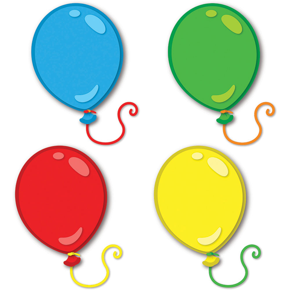 Balloon Small Assorted Color Creative Foam Cut-Outs