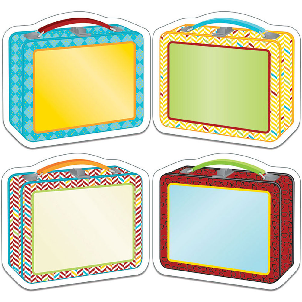 CD-120215 - Hipster Lunch Boxes Cut Outs in Accents