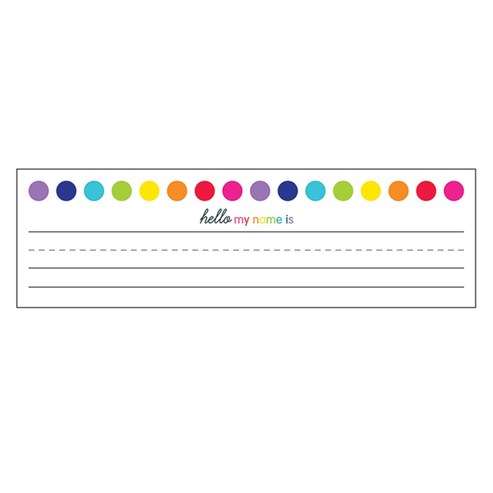 CD-122043 - Just Teach Nameplates in Name Plates