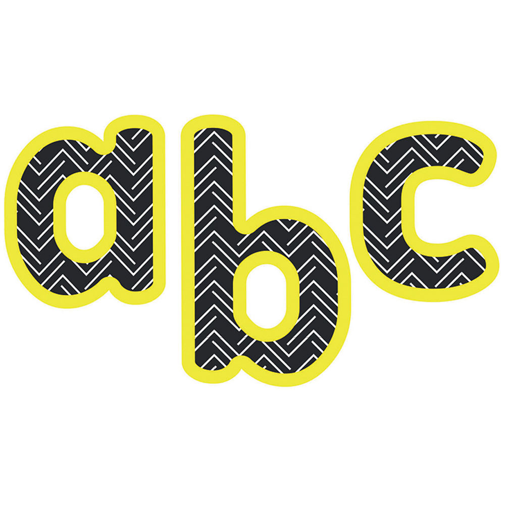 CD-130081 - Aim High Lowercase Lttrs 4In All Gr in Letters