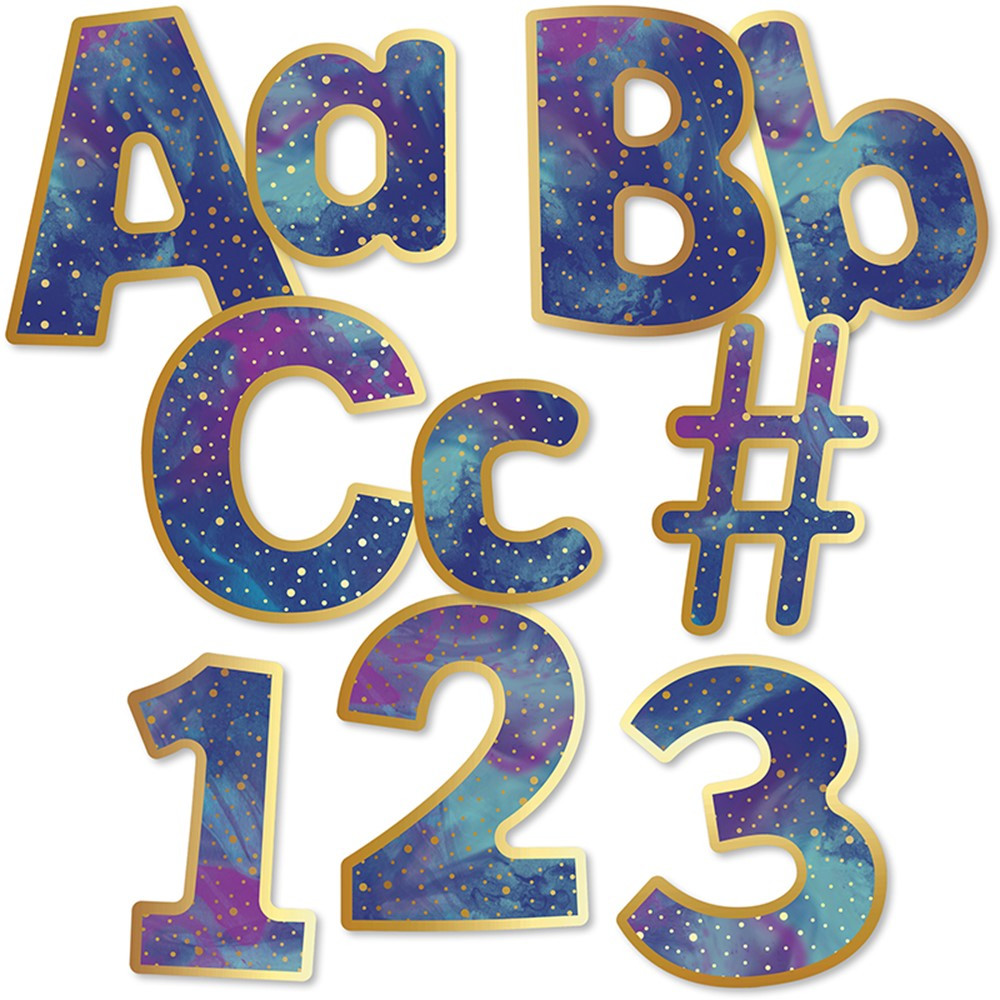 CD-130089 - Galaxy Combo Pack Ez Letters in Letters