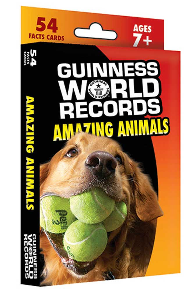 CD-134046 - Guinness World Records Amazing Animals Fact Cards in Animal Studies