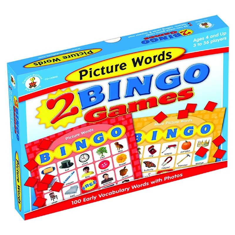 CD-140040 - Picture Words Bingo in Bingo