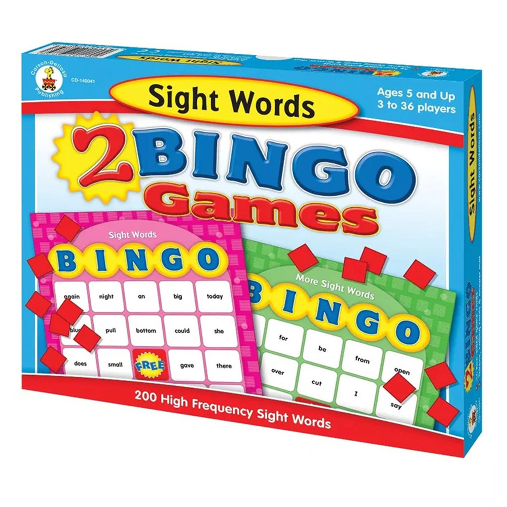 CD-140041 - Sight Words Bingo in Bingo