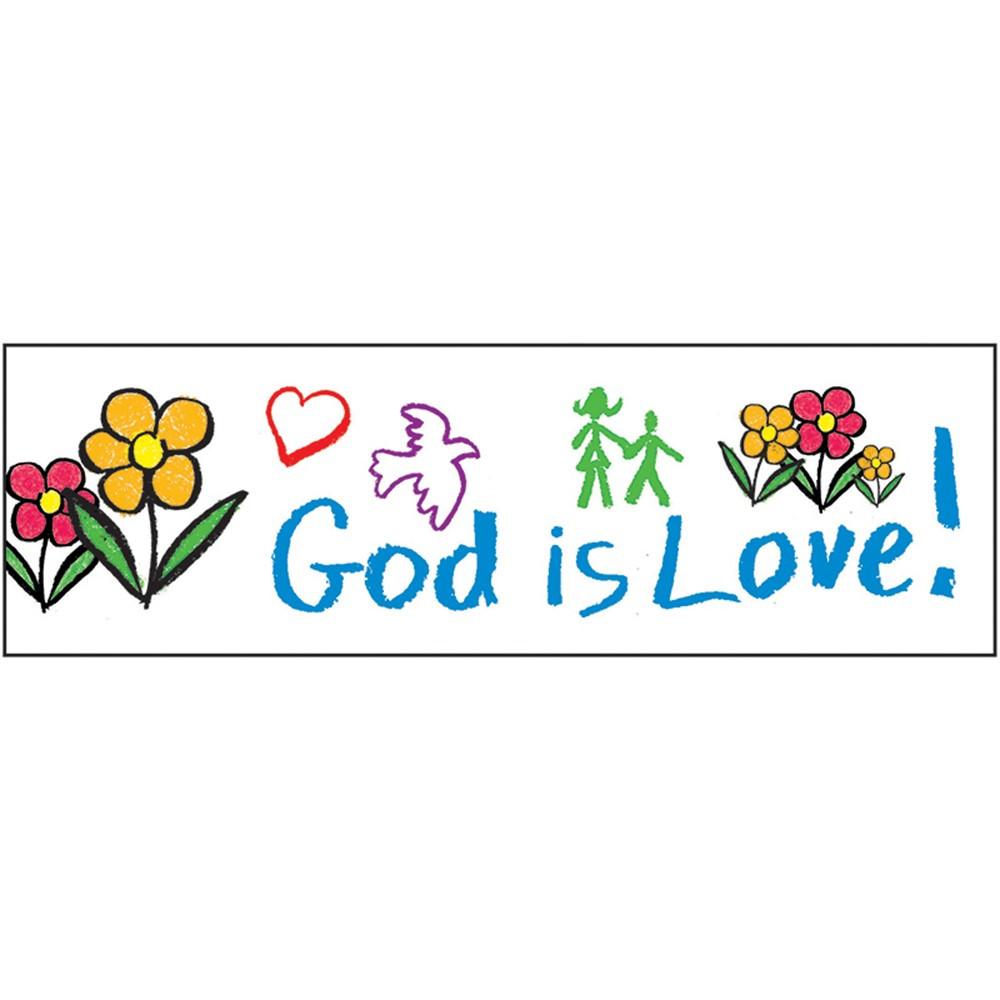 CD-1437 - Border God Is Love in Border/trimmer