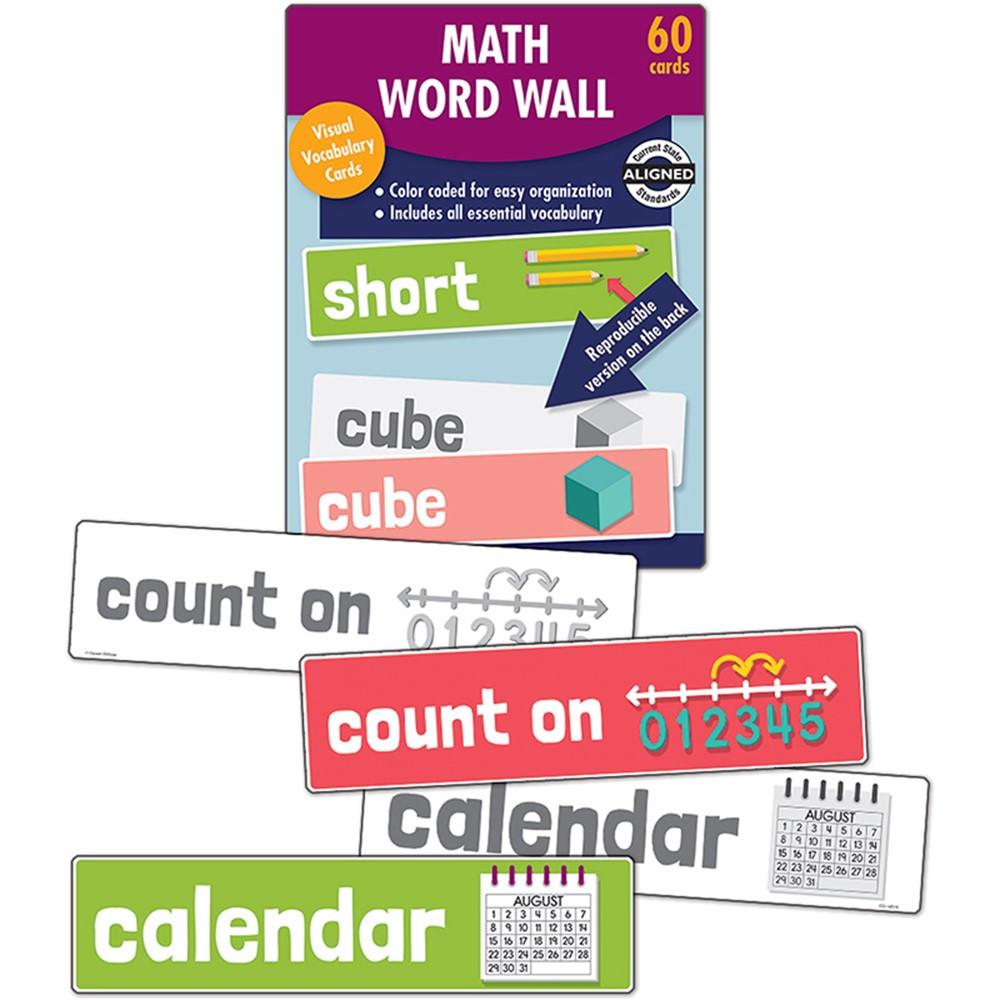 Math Word Wall Gr K