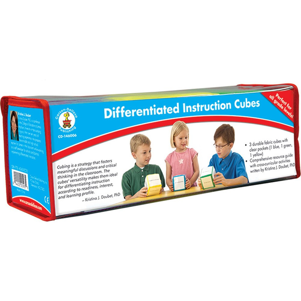 CD-146006 - Differentiated Instruction Cubes in Pocket Charts