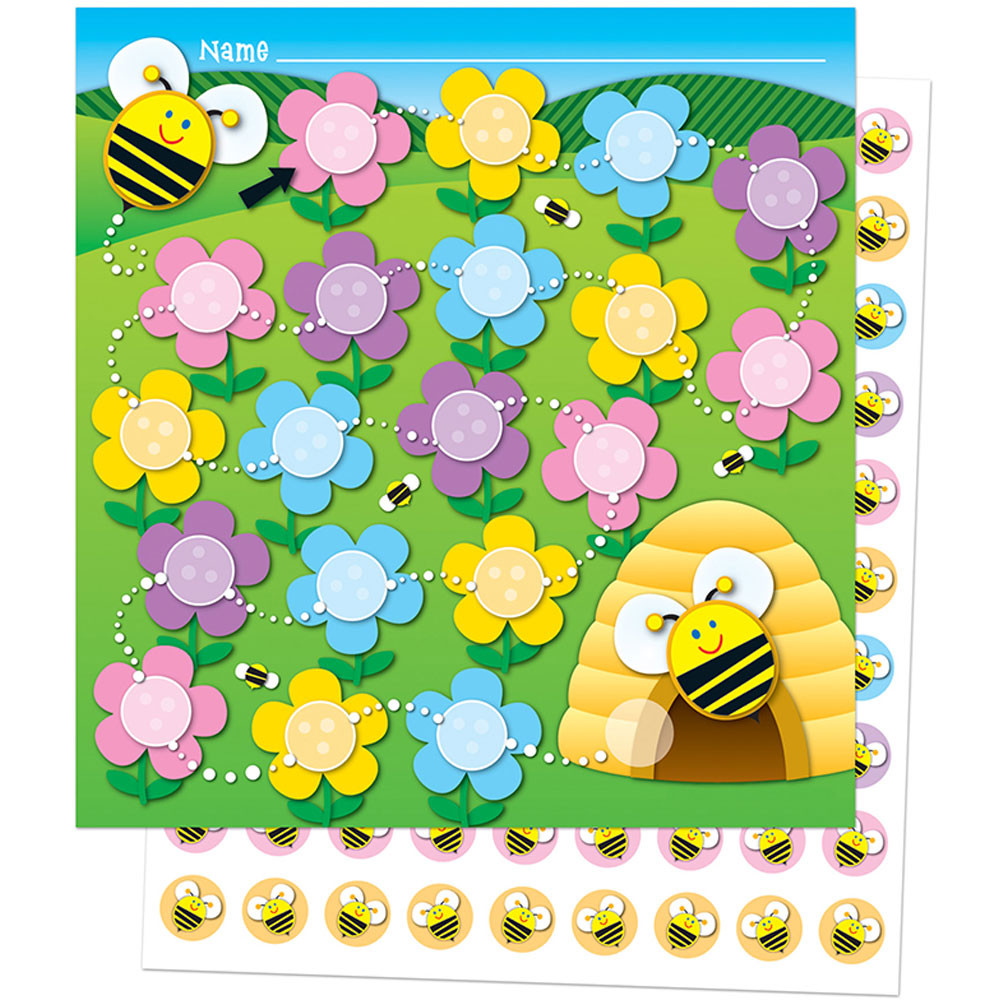CD-148005 - Bee Mini Incentive Charts in Incentive Charts