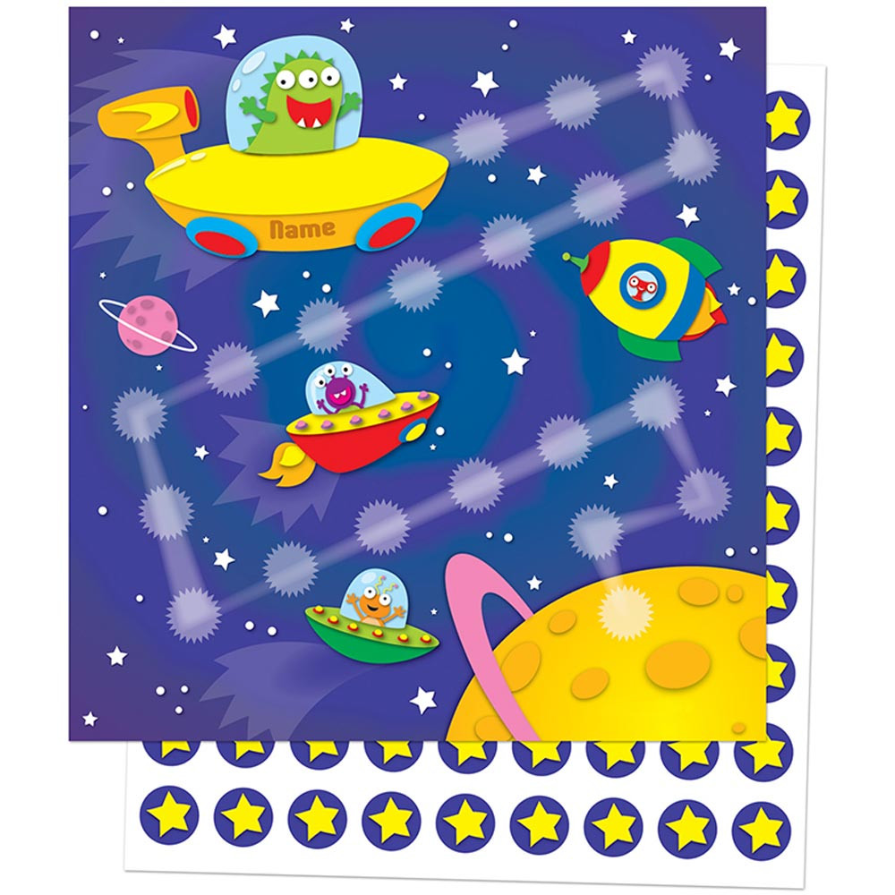 CD-148006 - Out Of This World Mini Incentive Charts in Incentive Charts