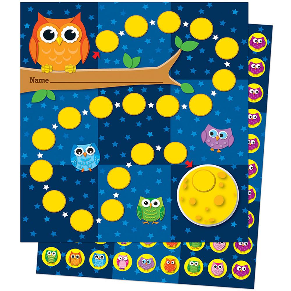 CD-148009 - Owls Mini Incentive Charts in Incentive Charts