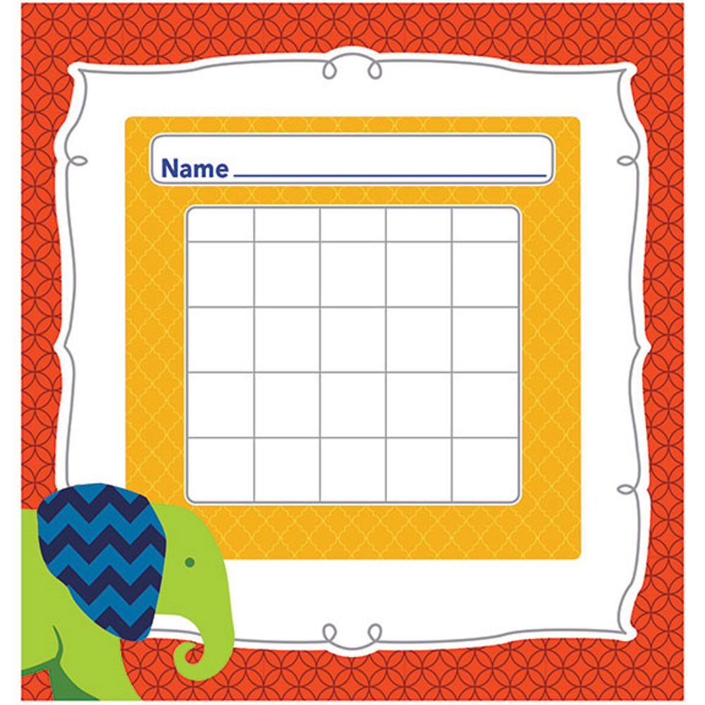 CD-148027 - Parade Of Elephants Mini Incentive Charts in Incentive Charts