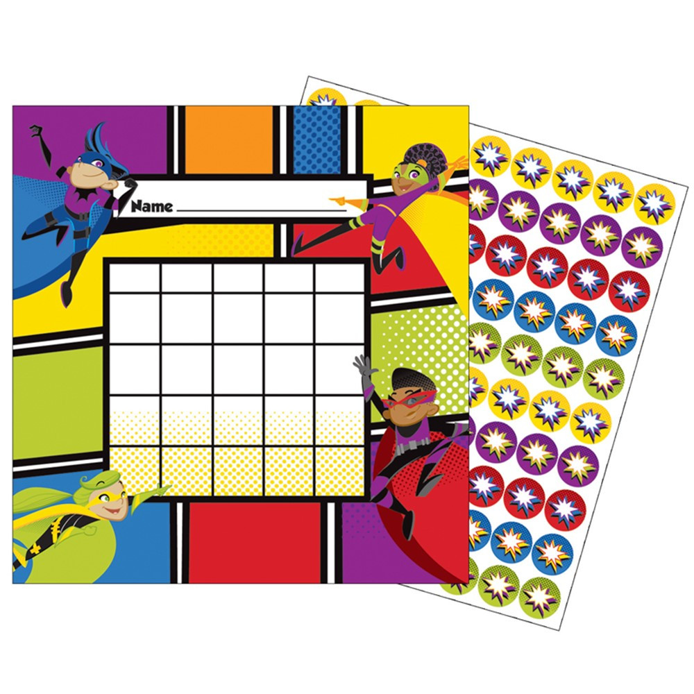 CD-148028 - Super Power Mini Incentive Charts in Incentive Charts
