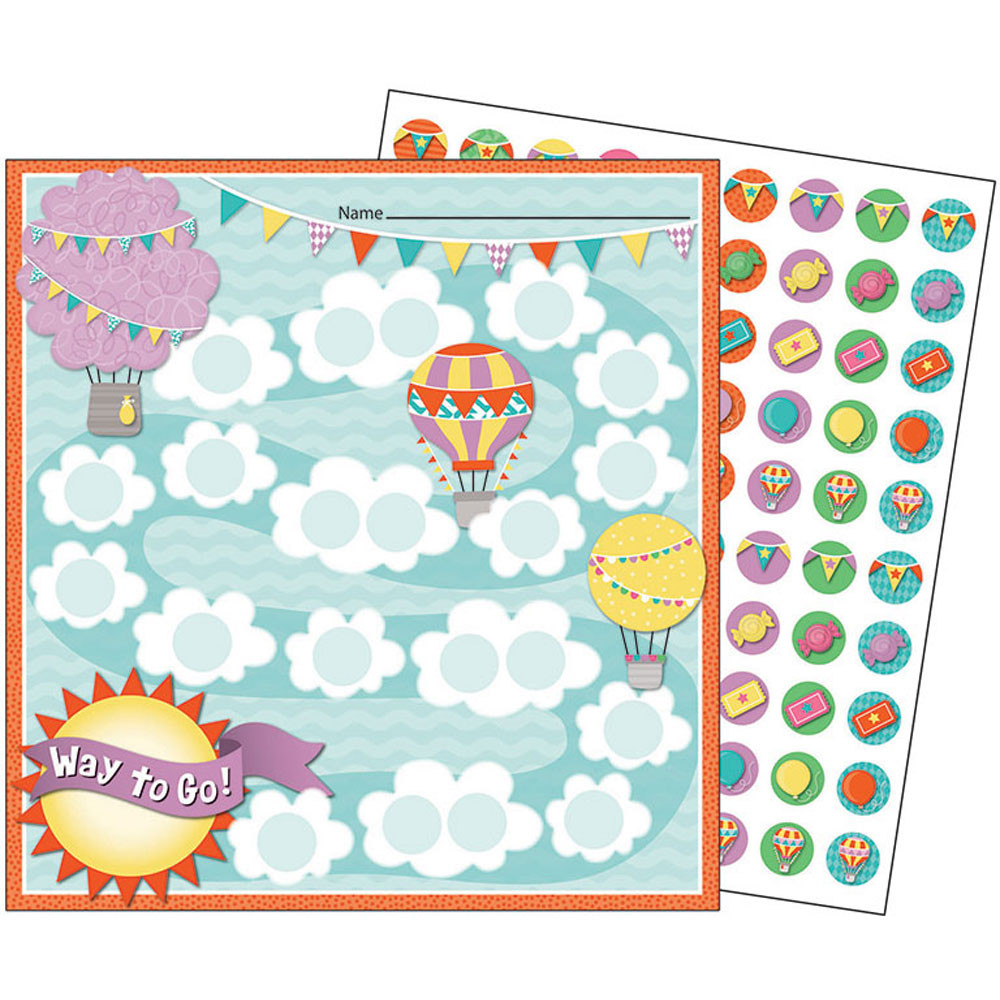 CD-148034 - Up And Away Mini Chart Gr Pk-5 Incentive in Incentive Charts