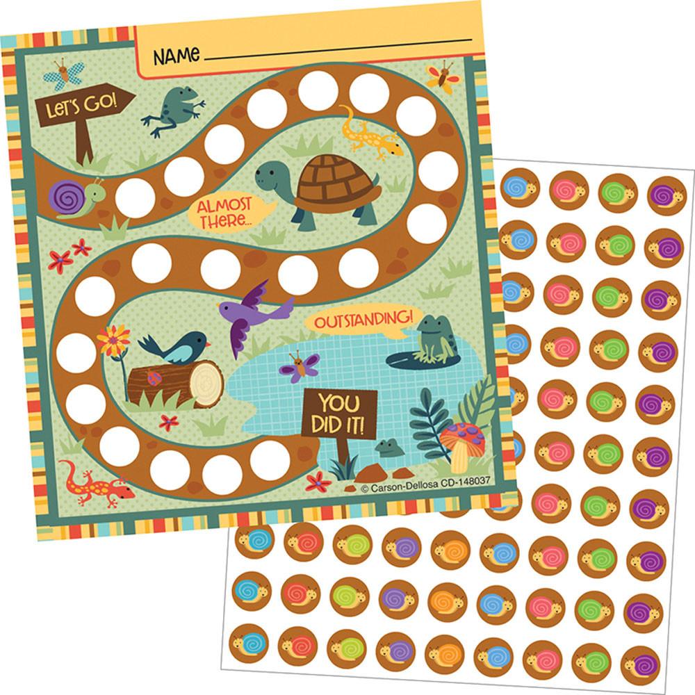 CD-148037 - Nature Explorers Mini Incentive Chart in Incentive Charts