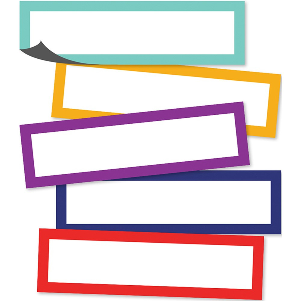 CD-149007 - Classic Magnetic Labels in Whiteboard Accessories