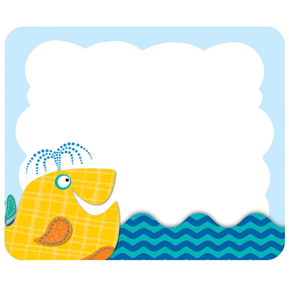 CD-150038 - Seaside Splash Name Tags in Name Tags