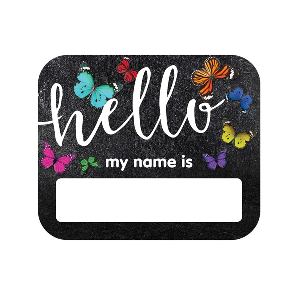 CD-150070 - Woodland Whimsy Hello Name Tags in Name Tags