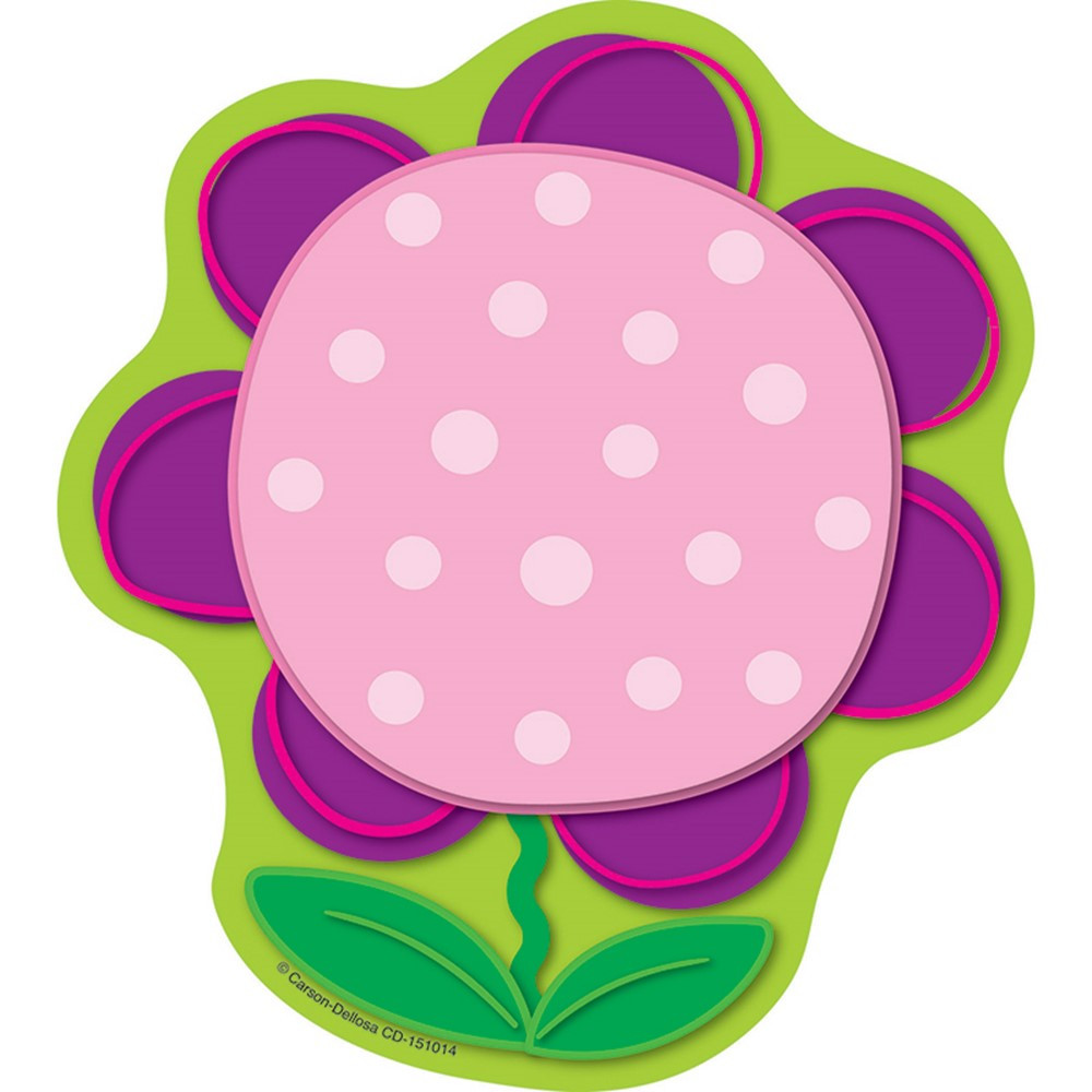 CD-151014 - Flower Notepad in Note Pads