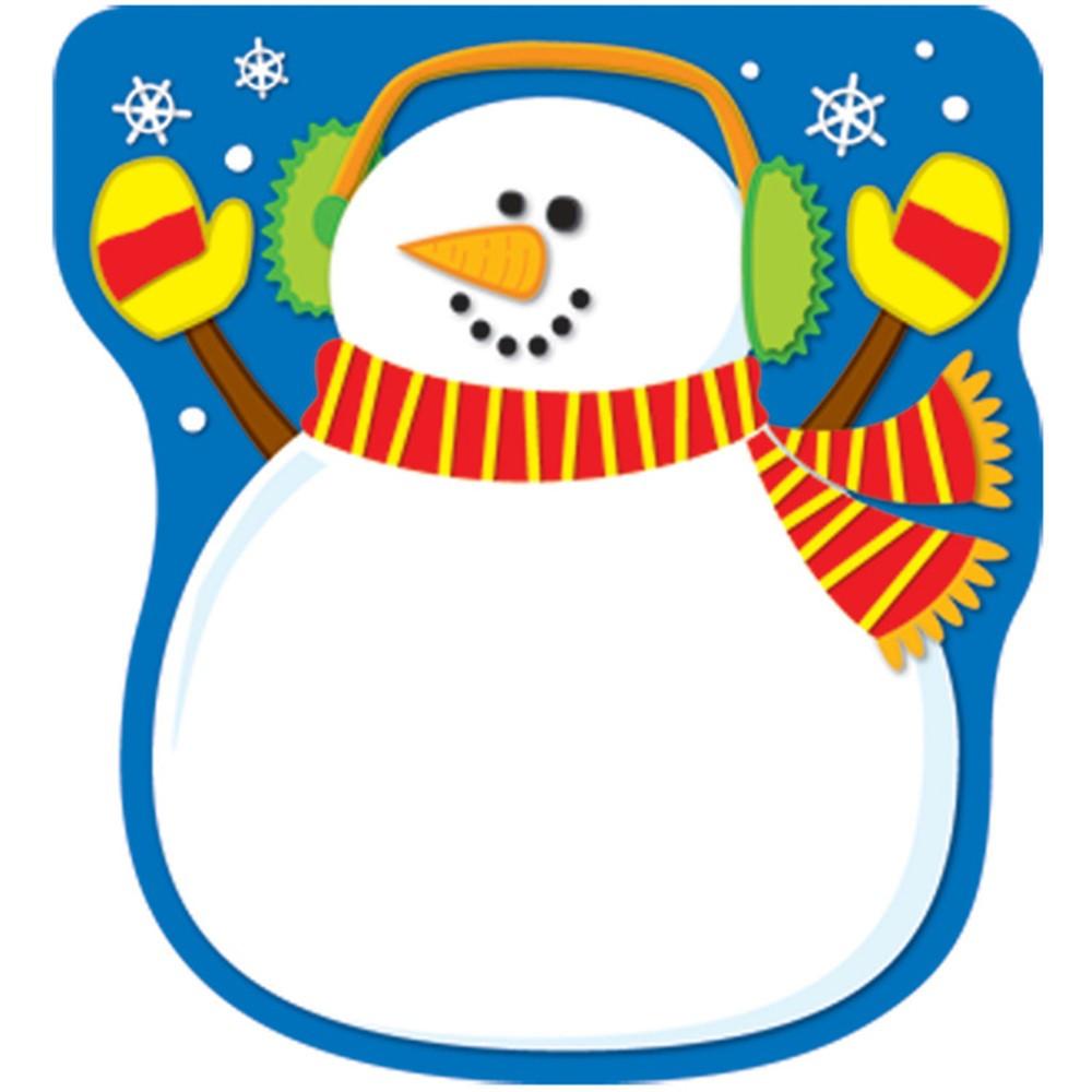 CD-151017 - Snowman Notepad in Holiday/seasonal