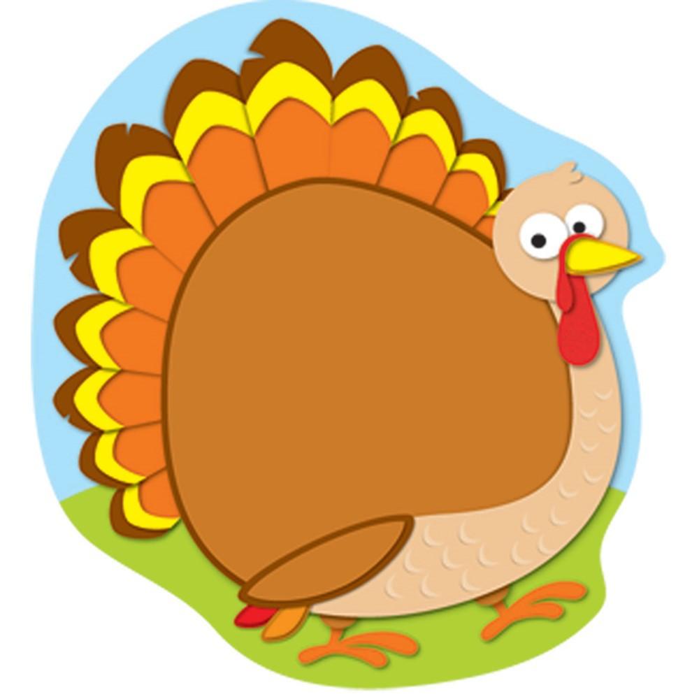 CD-151019 - Turkey Notepad in Holiday/seasonal