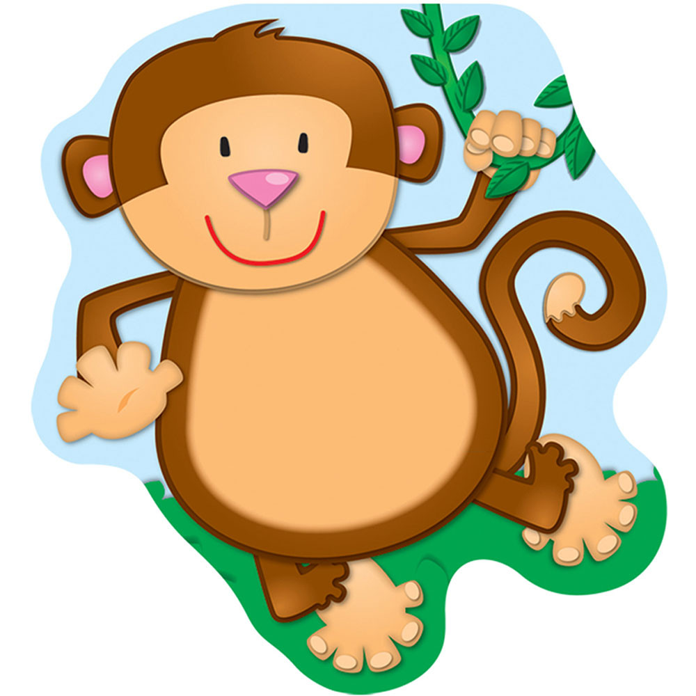 CD-151046 - Monkey Note Pads in Note Pads