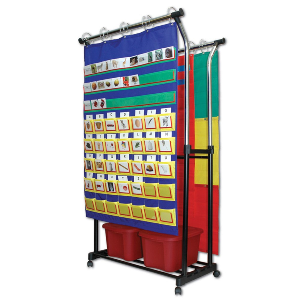 CD-158004 - Double Pocket Chart Stand & Accessories in Pocket Charts