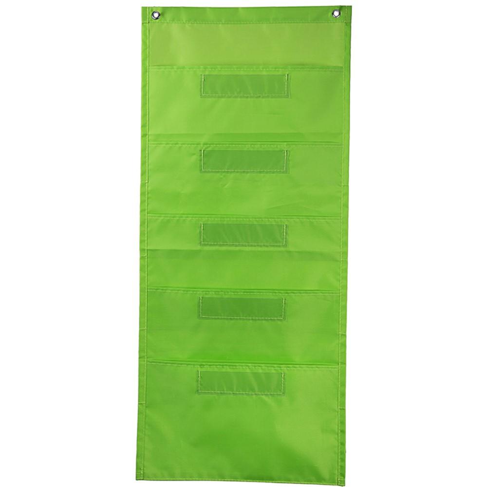 CD-158565 - File Folder Storage Lime Pocket Chart in Pocket Charts