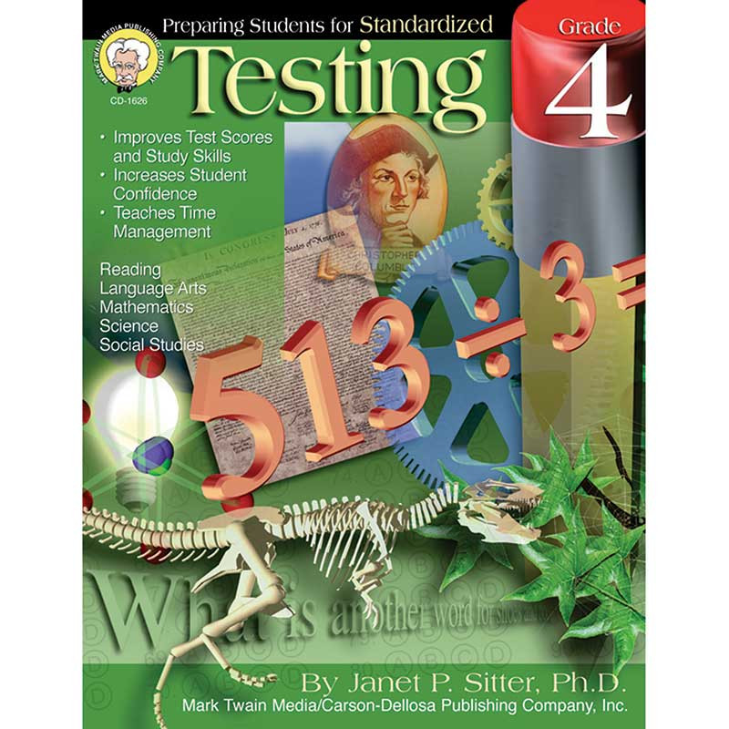 CD-1626 - Preparing Students For Standardized Testing Gr 4 in Cross-curriculum