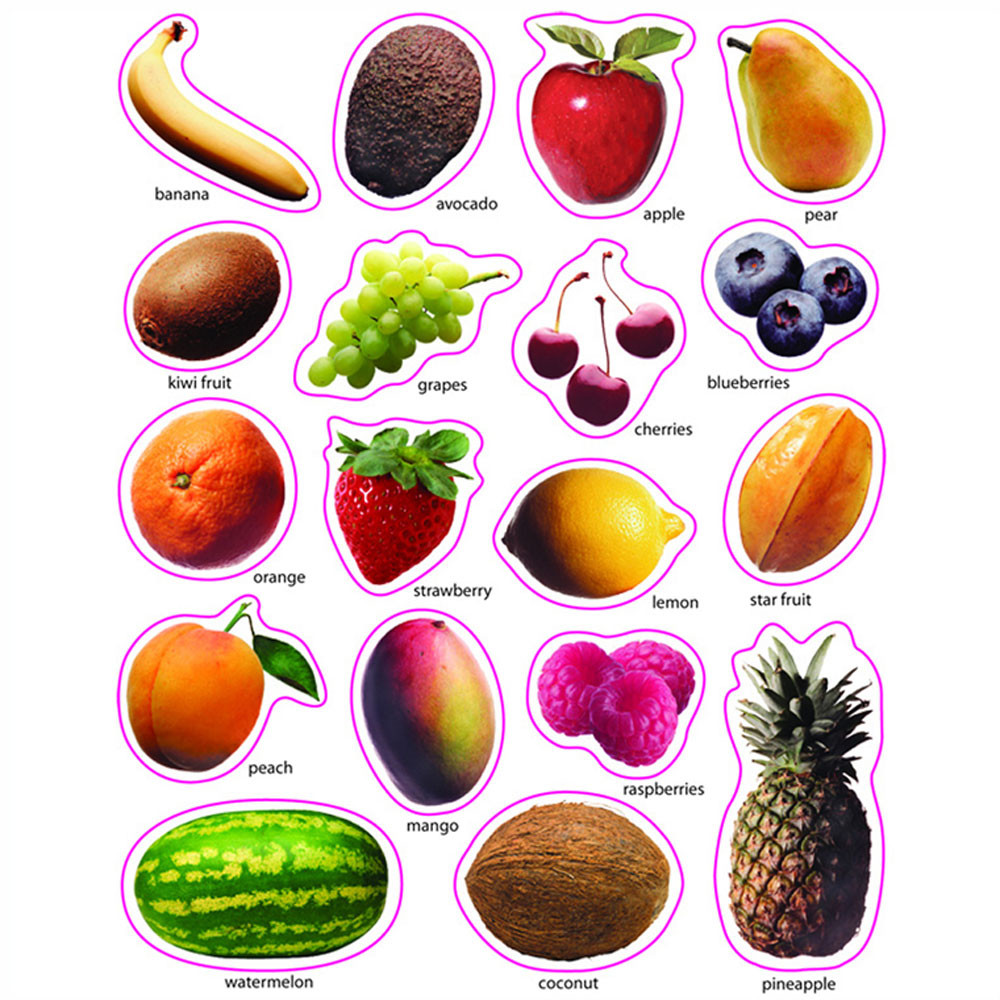 CD-168008 - Fruit Photographic in Stickers
