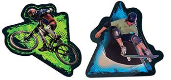 CD-168077 - Extreme Sports Stickers in Stickers