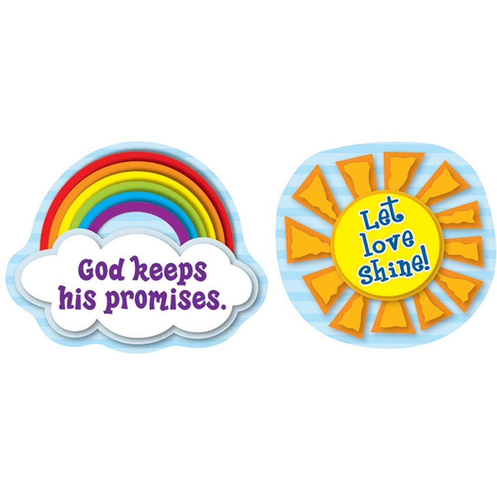CD-168084 - Let Love Shine Stickers in Inspirational