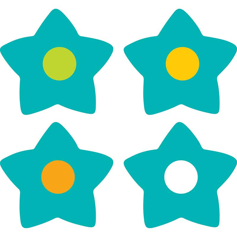 CD-168140 - Teal Appeal Chart Seals in Incentive Charts