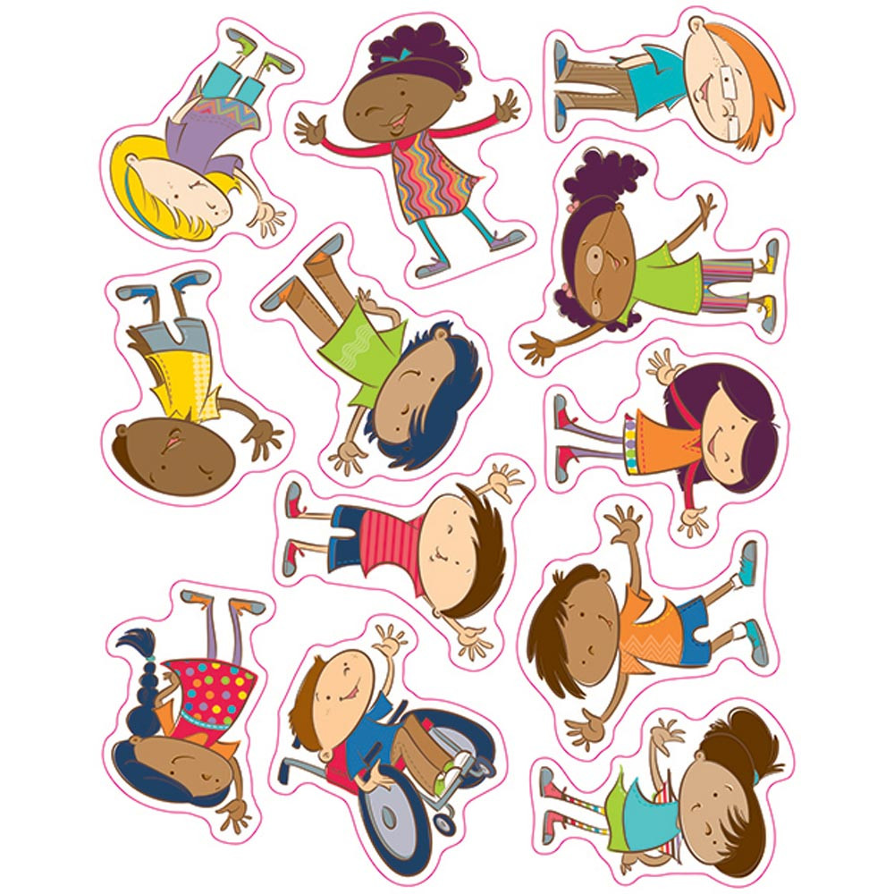 CD-168154 - Carson Kids Stickers in Stickers