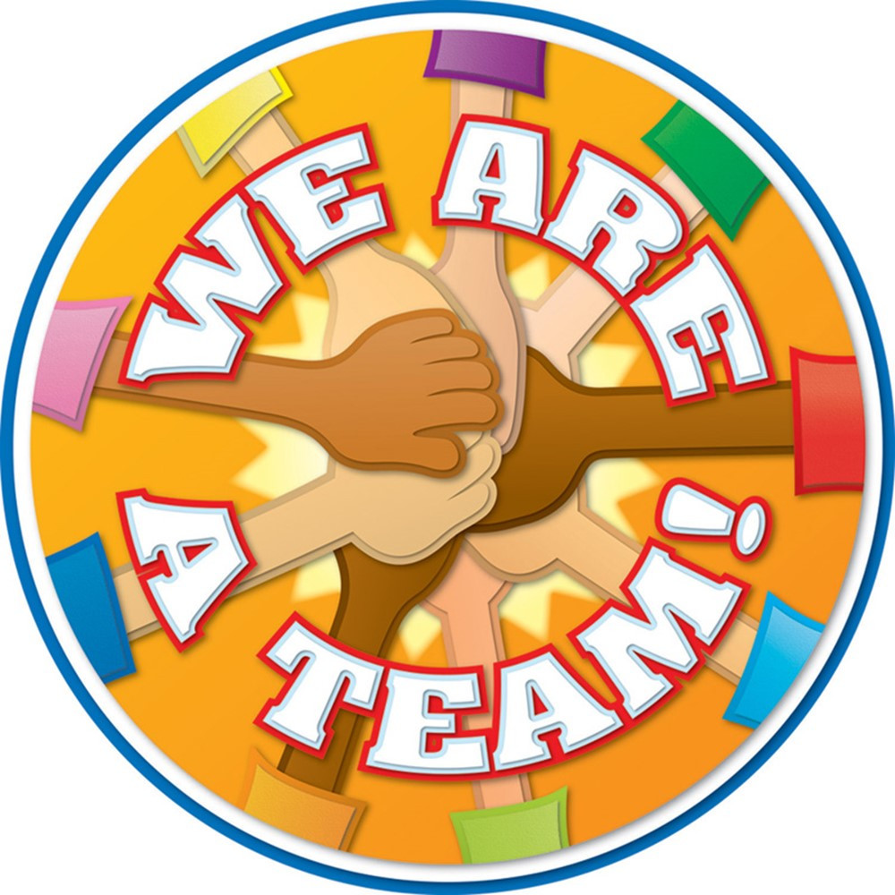 CD-188012 - We Are A Team Two Sided Decorations in Two Sided Decorations