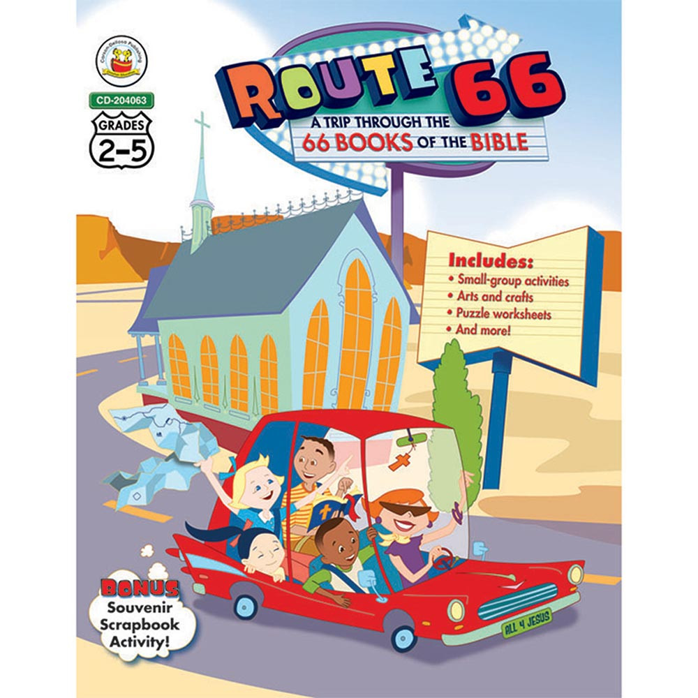 CD-204063 - Route 66 A Trip Through The 66 Books Of The Bible in Inspirational