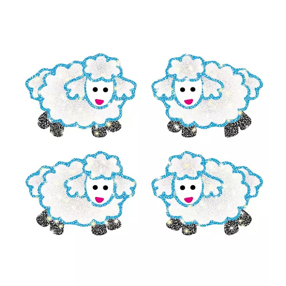 CD-2156 - Dazzle Stickers Lambs 96/Pk Acid & Lignin Free in Inspirational